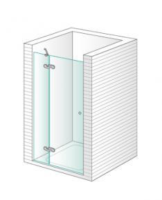 Lasser ona gold mampara de ducha a medida un fijo una puerta mitra llartarragona reformas - Puerta para discapacitados medidas ...