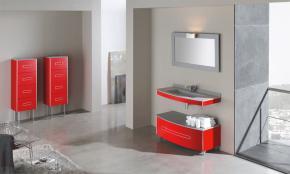 Mueble ba o fiora serie colors conjunto formado mueble - Muebles de bano con ruedas ...